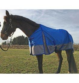 LuBa Paardendekens® Regendeken 1200D - Blauw