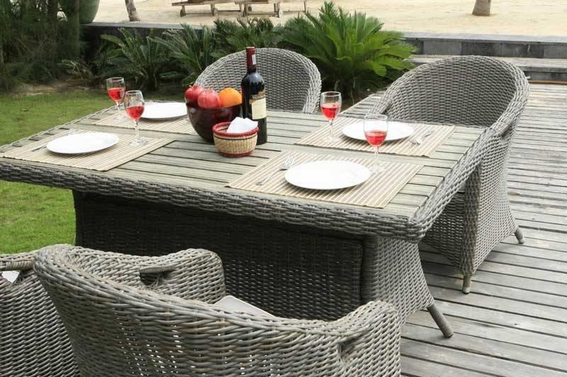Decomundo Sevilla Charm - wicker-tafel