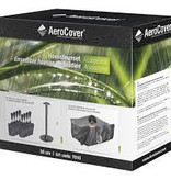AeroCover Hoessteunset - steun en gewichtjes voor beschermhoes