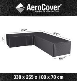 AeroCover Beschermhoes Hoeklounge - 255x330x100x70cm