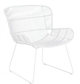 Max & Luuk Faye loungestoel - White