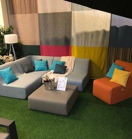 Jardinico Colors Loungeset showroom opstelling