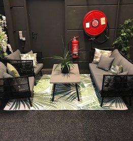 Decomundo Fiji Loungeset showroom opstelling