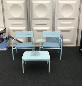 Max & Luuk Grace loungeset showroom opstelling