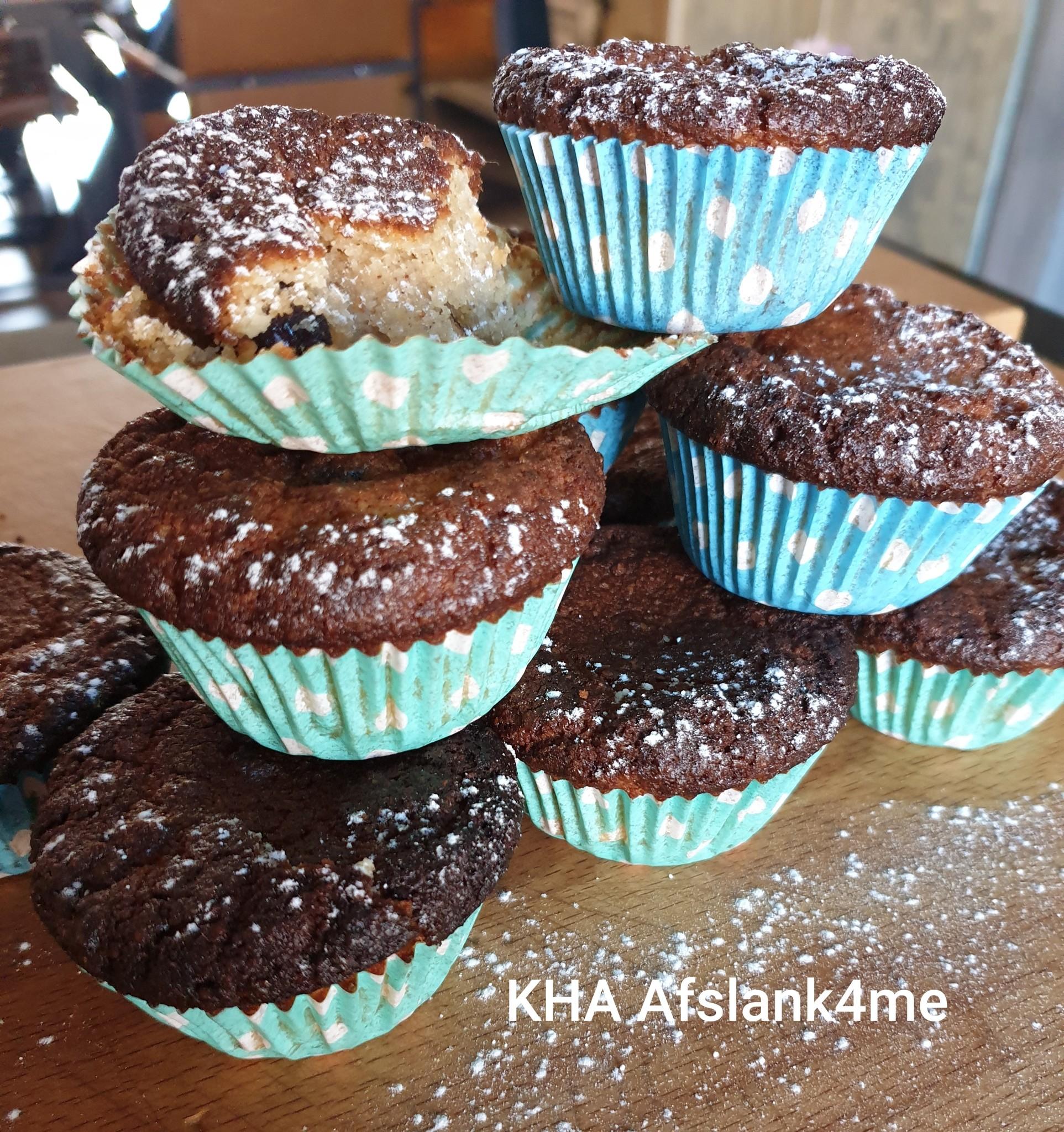 KHA Muffins met blauwe bessen en kaneel