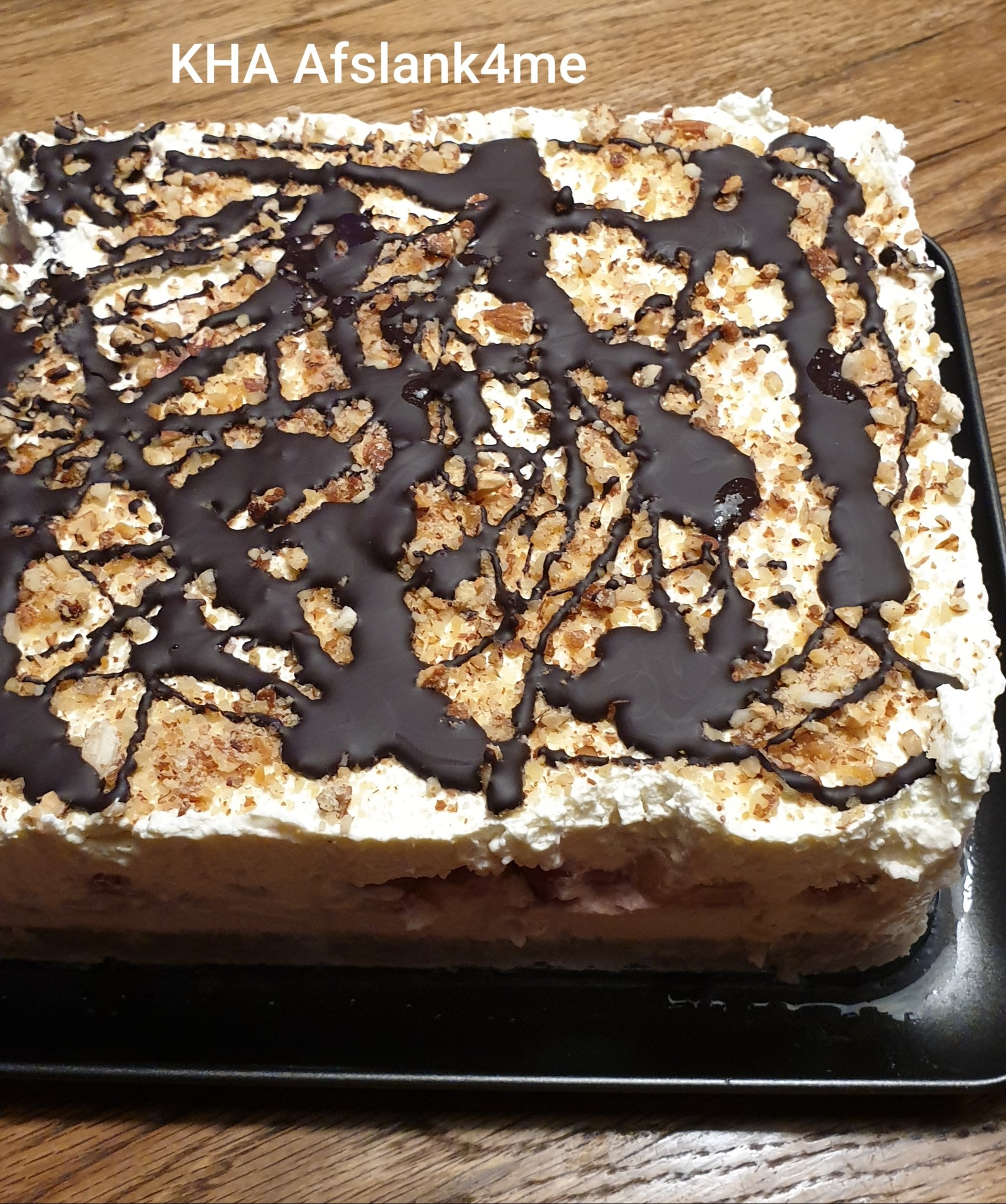 Bananen Split Cheesecake-Koolhydraatbeperkt maar kan ook KHA