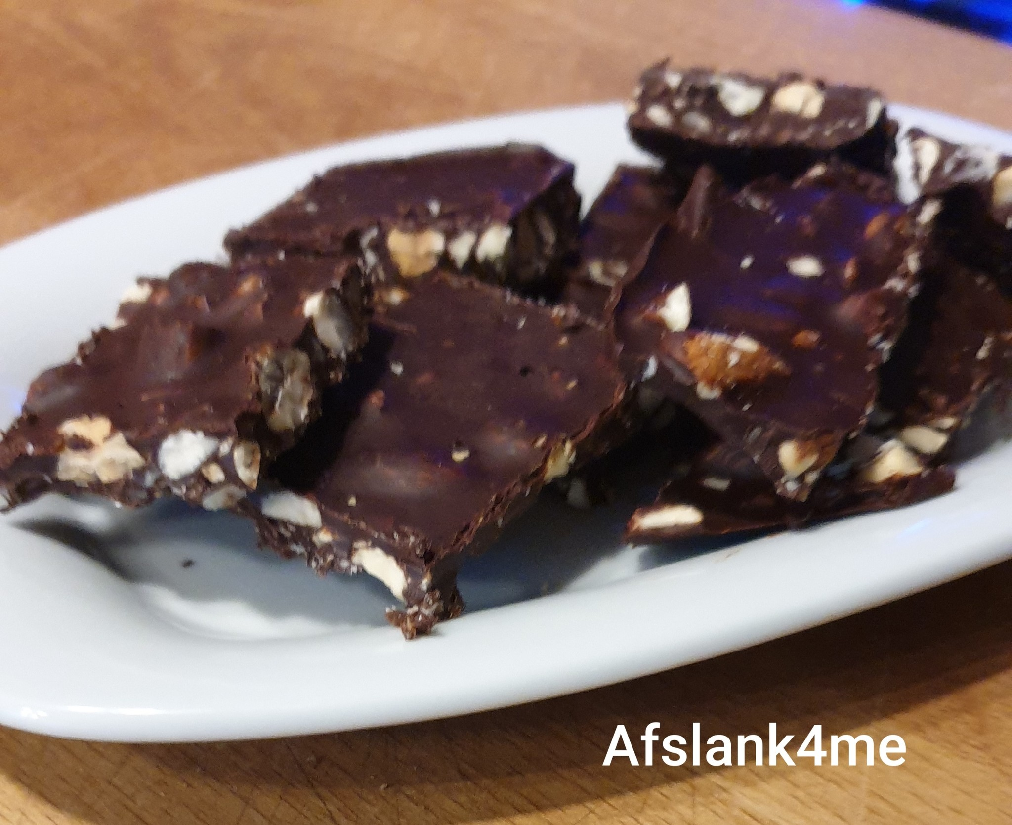 Keto/koolhydraatarm Pepermunt chocolade