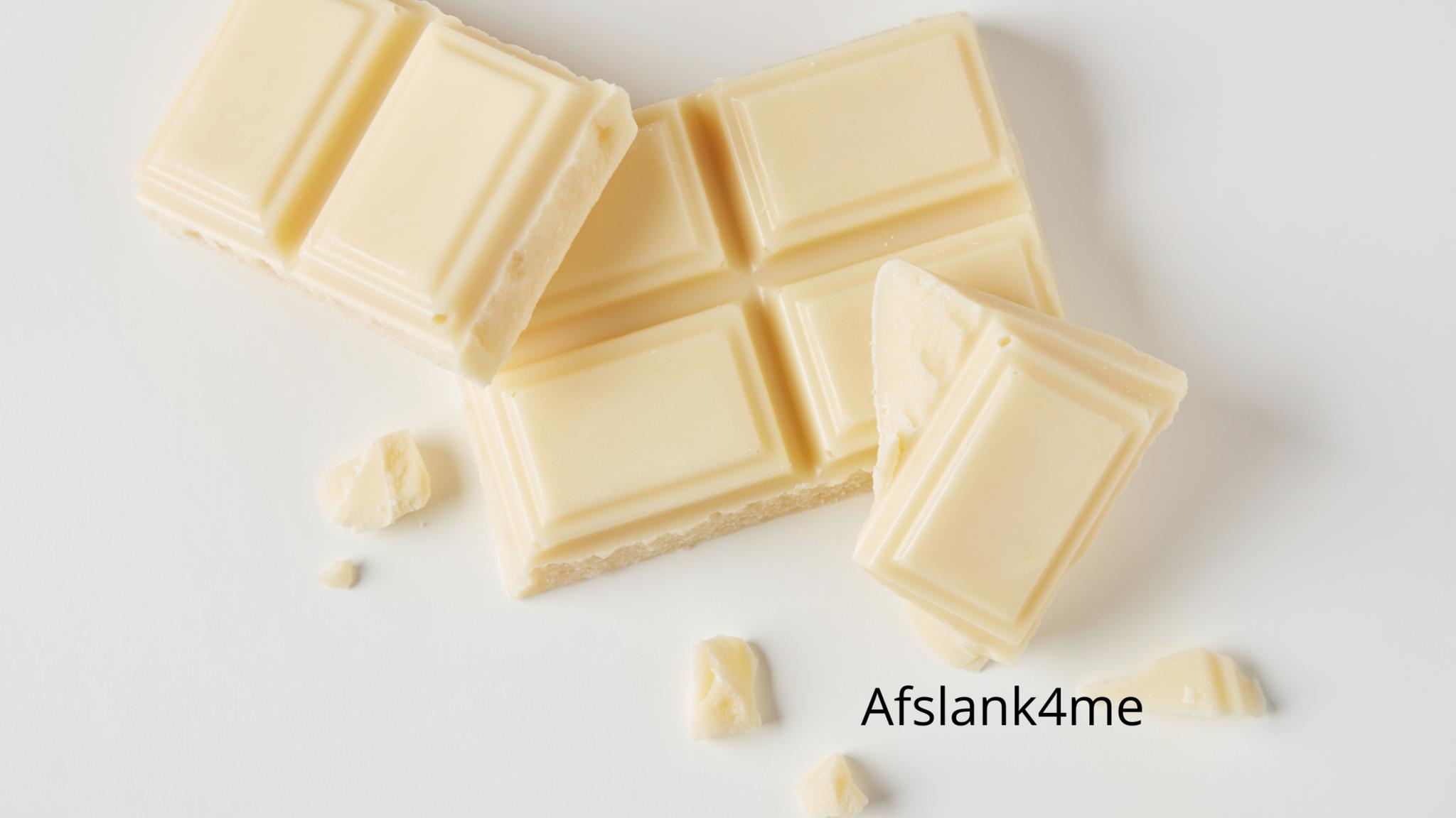 Romige witte chocolade-Koolhydraatarm