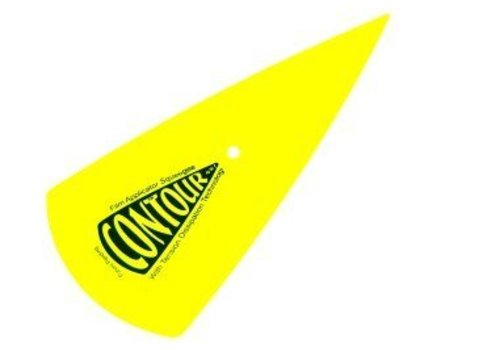 150-031 Yellow Contour Rakel Medium