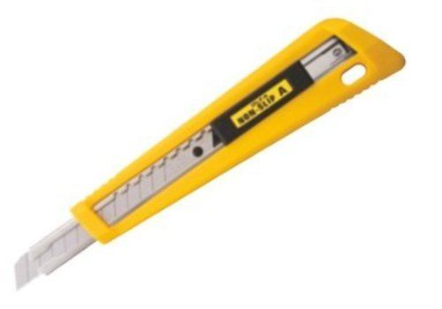 OLFA® 100-NA-1 Rubber Grip Auto-Lock Utility Knife