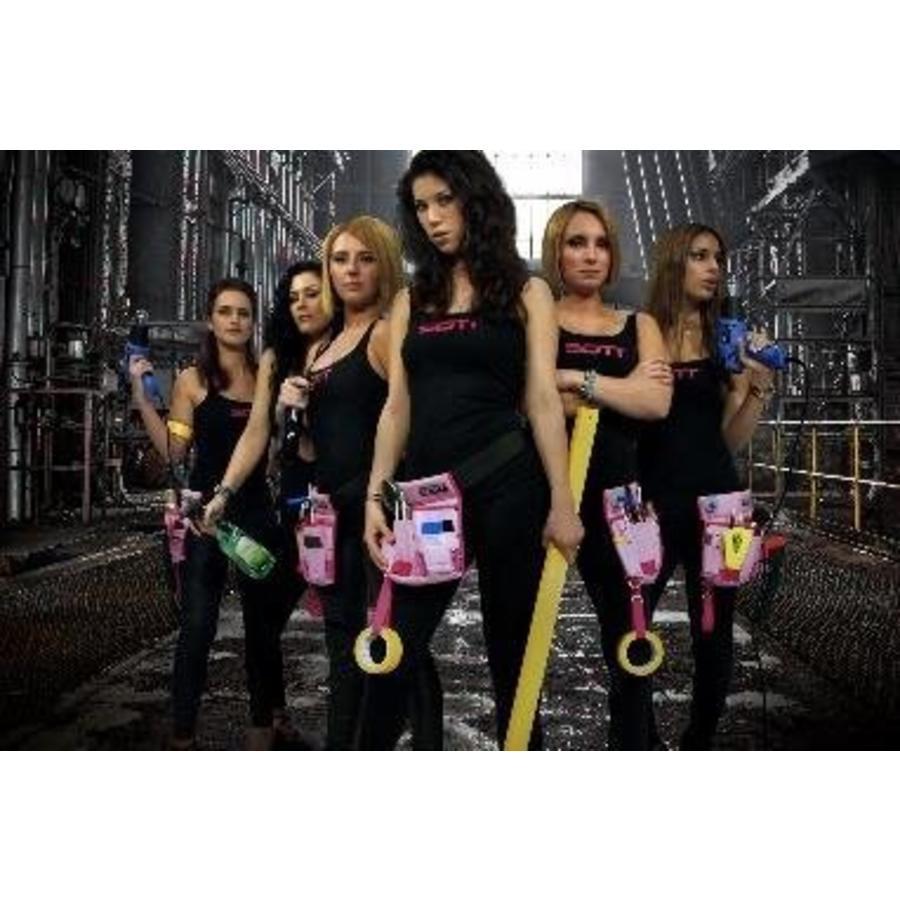 400-016-LB SOTT Ladybag Pink mit 11 Staufächern-3