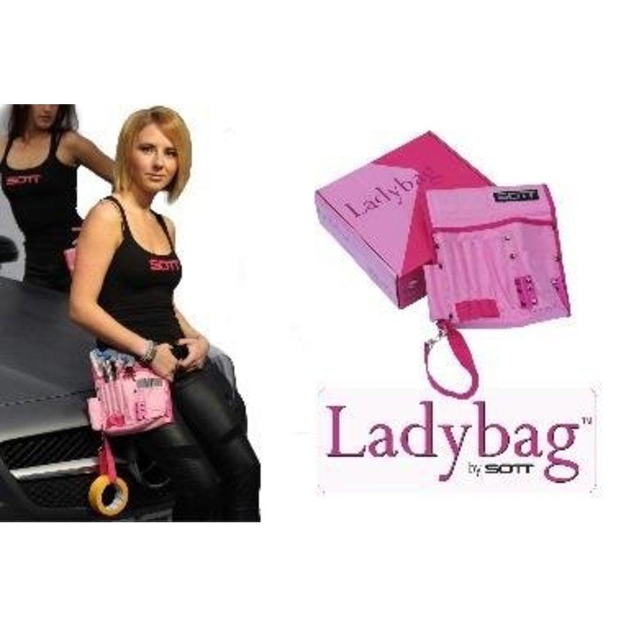 400-016-LB SOTT Ladybag Pink mit 11 Staufächern-2