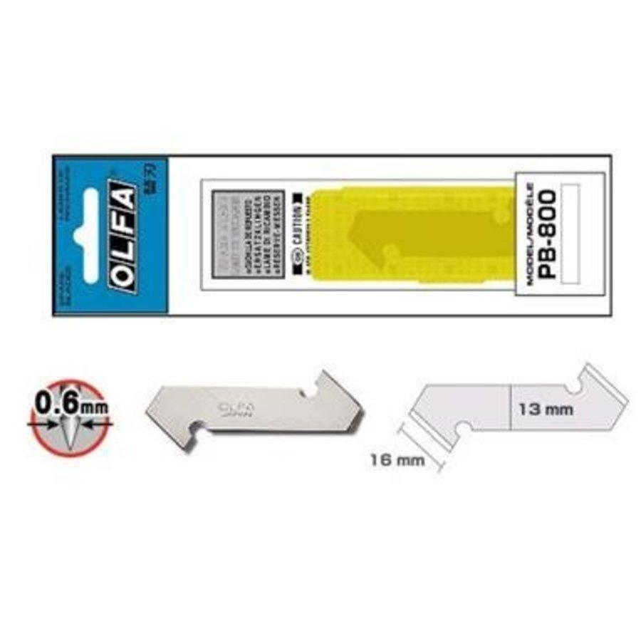 120-PB-800 Kunststoff-/Laminatklingen, 3er Pack-3