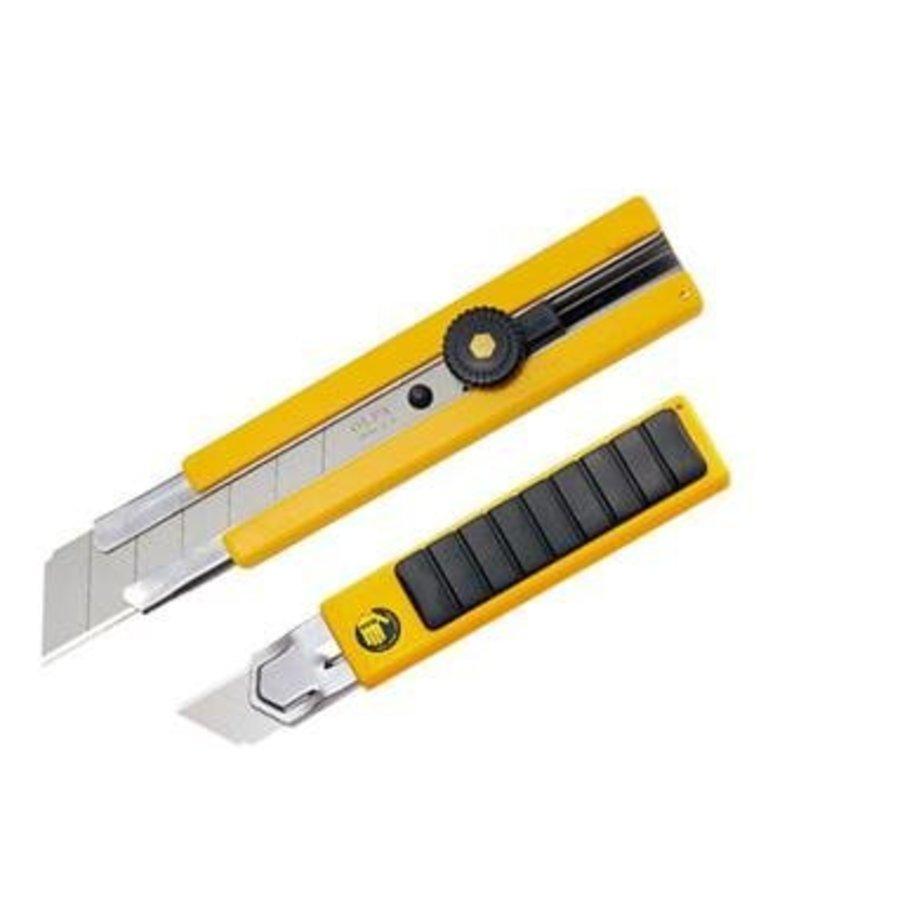 100-H-1 Gummi Inset Griff Ratchet-Lock Utility Messer-1