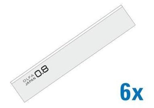 OLFA® 120-BS-08/6B 100 mm Schaber Klingen 8 mm dick