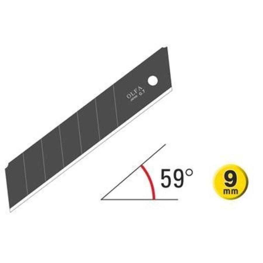 120-HBB-5B  25mm Excel Black Ultra-Sharp Klingen -5 Pack-2