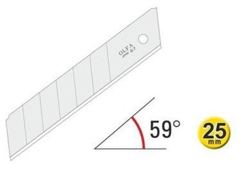 OLFA® 25mm Silver Snap-Off Blades 120-HB-20B