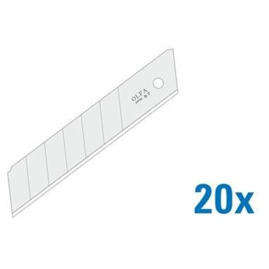 120-HB-20B 25mm Silver Snap-Off Blades-2