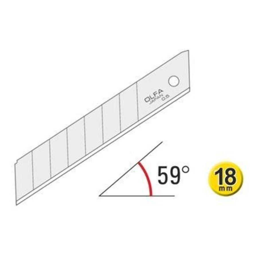 120-LB-50 Olfa  Abbrechklingen 45º  Groß 50 Pack-2