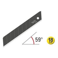 thumb-120-LBB-50 18mm Excel Schwarz Ultra-Sharp Snap-Off Blades-1