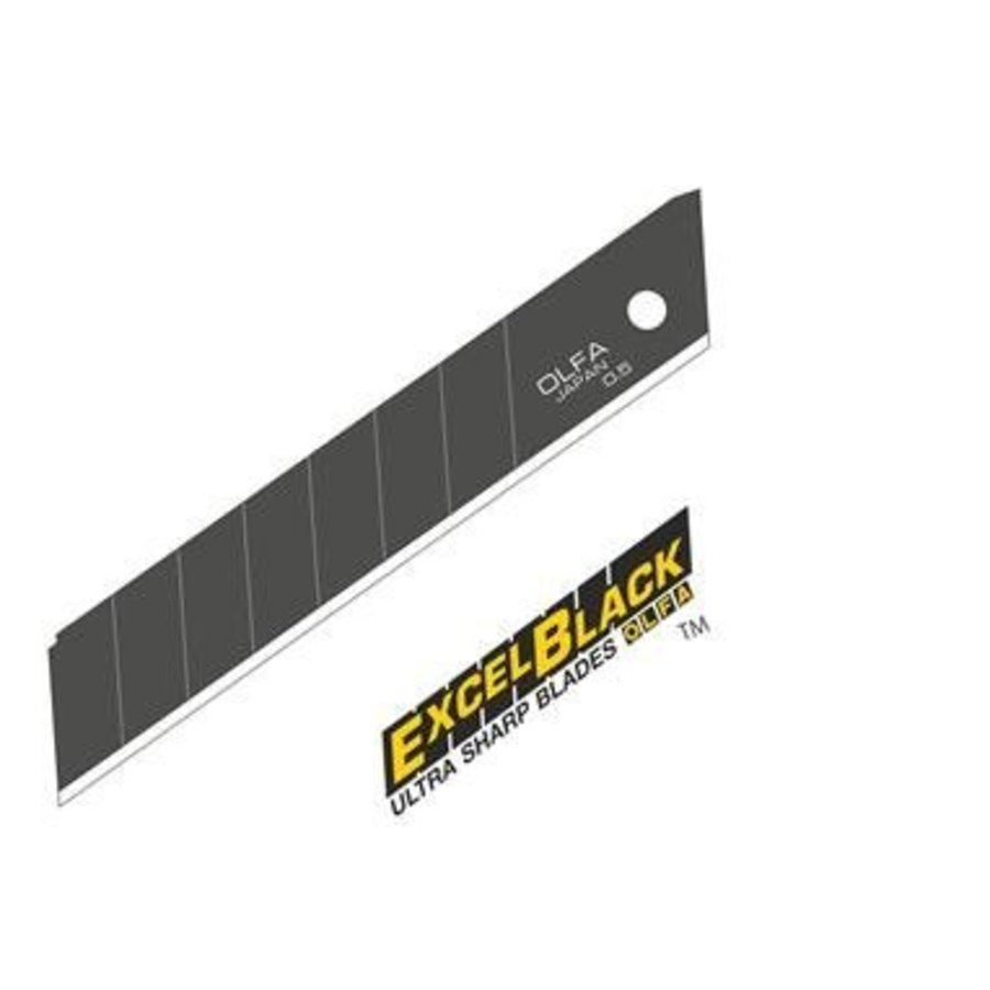 120-LBB-50 18mm Excel Schwarz Ultra-Sharp Snap-Off Blades-2