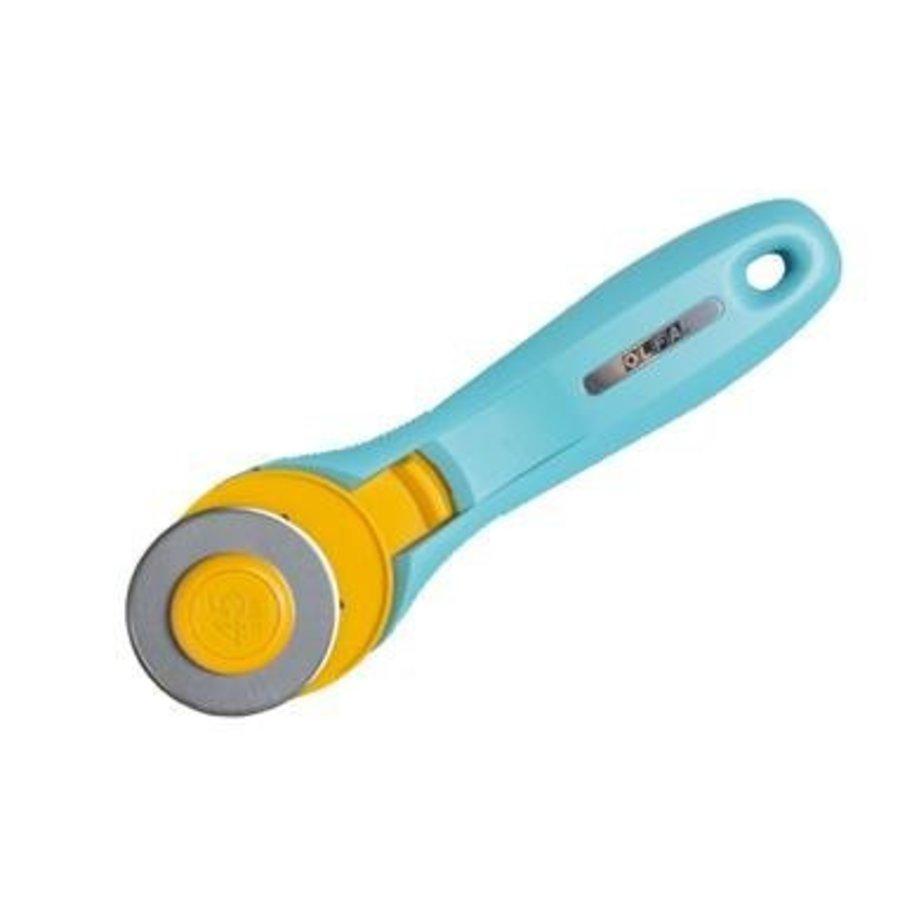 100-RTY-2/C Splash 45mm Rotary Cutter, Aqua-1