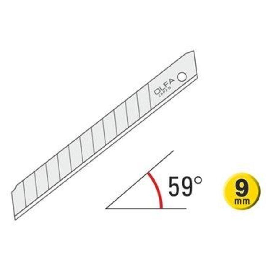 120-ASB-10 9mm Silver Snap-Off Blades 10 Stück-1