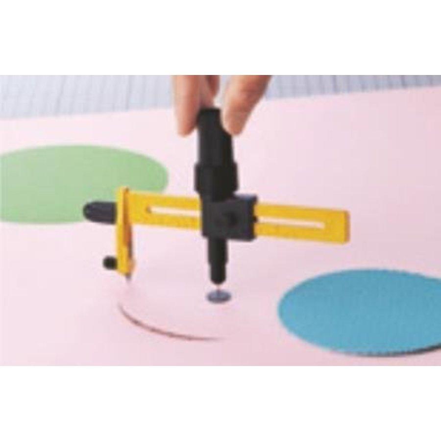 100-CMP-1/DX Ratchet Compass Circle Cutter 1.6 to 22cm-2