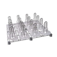 thumb-500-013 Floor Rack mit massiv gelagerten Schwenkrädern-1