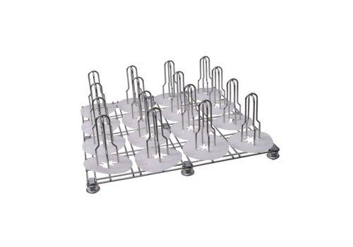 SOTT® 500-013 Floor Rack mit massiv gelagerten Schwenkrädern