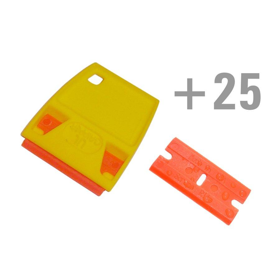 300-007 Lil' Gripper Schaberhalter mit 25 Schabern-1