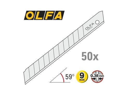 OLFA® 120-AB50 9mm Silber Abbrechklingen -50er Pack