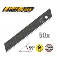 thumb-120-ABB-50 9mm Schwarz Ultra-Sharp Klingen -50er Pack-1