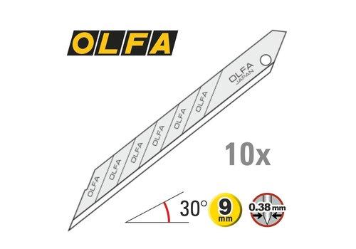 OLFA® 9mm Klingen 30° Super Sharp -10er Pack