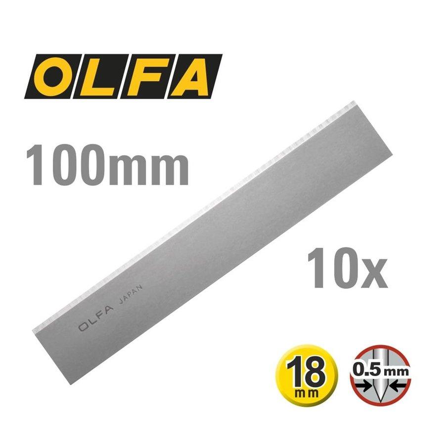 120-BS10B 100mm Dual-Edge klingen für Schaber -10er Pack-1