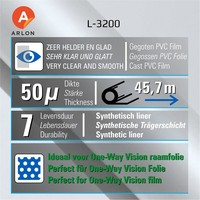 thumb-Arlon L-3200 OpticalClear 137cm-2