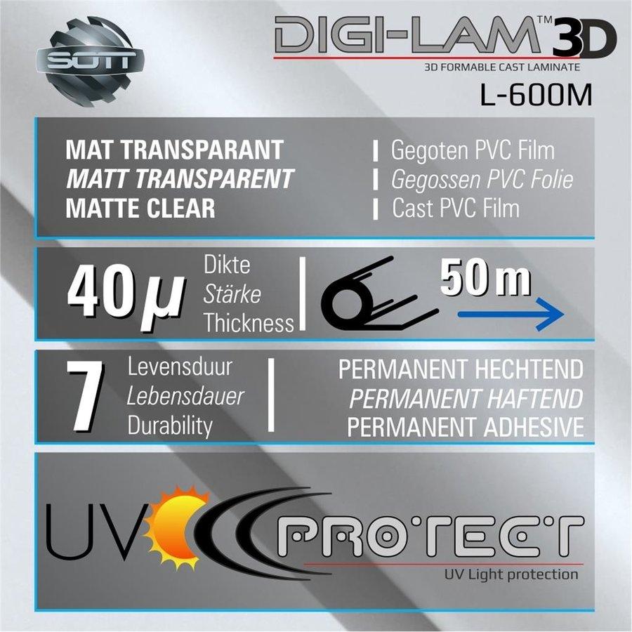 L-600M DIGI-LAM™3D Matt Laminat Gegossen 137 cm-2
