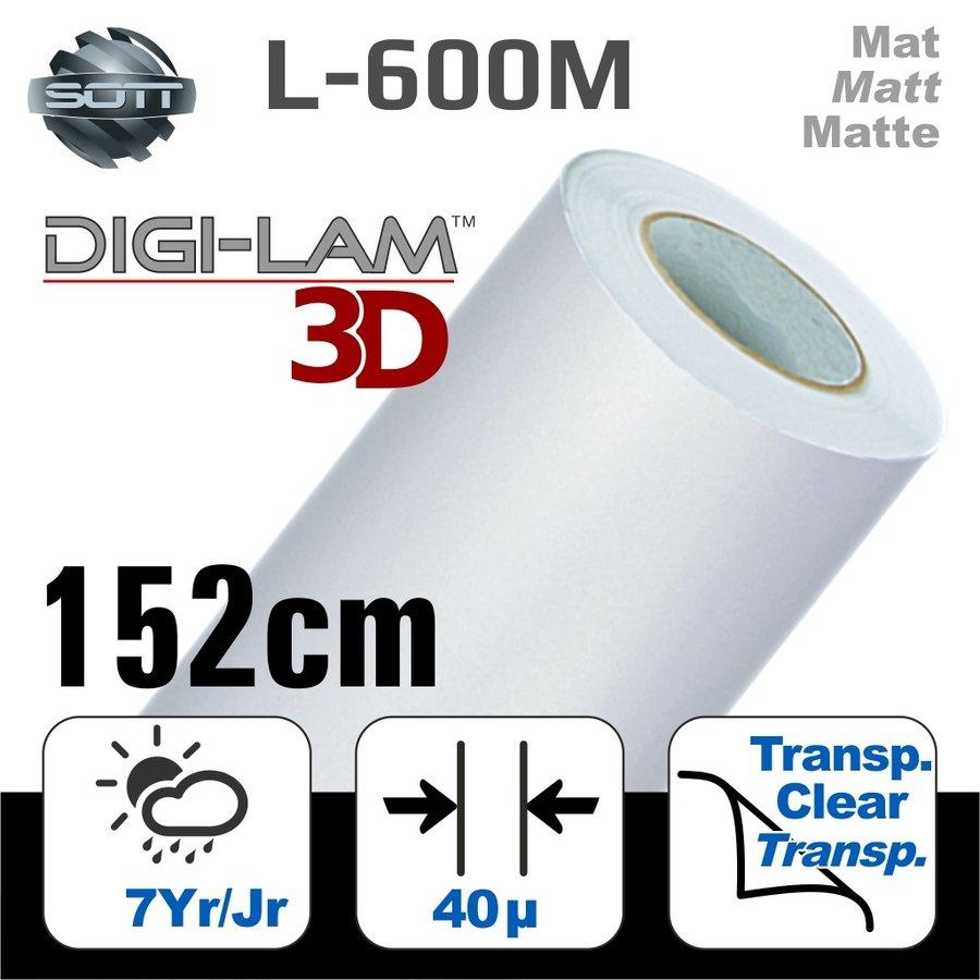 L-600M DIGI-LAM™3D Matt Laminat Gegossen 152 cm-1