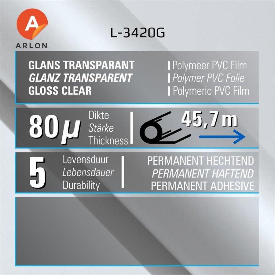 L-3420 Glanz Laminat Polymer -137 cm-2
