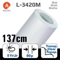 thumb-L-3420 Matt Laminat Polymer -137 cm-1