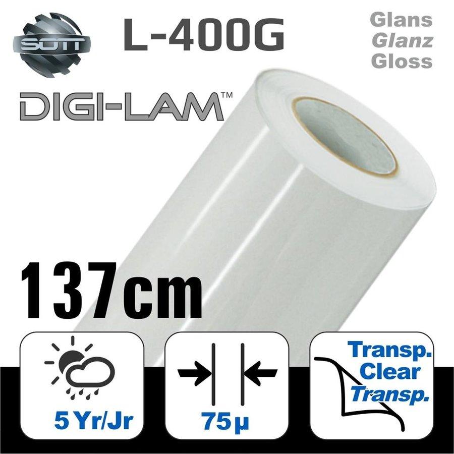L-400 DIGI-LAM Polymer Laminat Glanz 137 cm-1