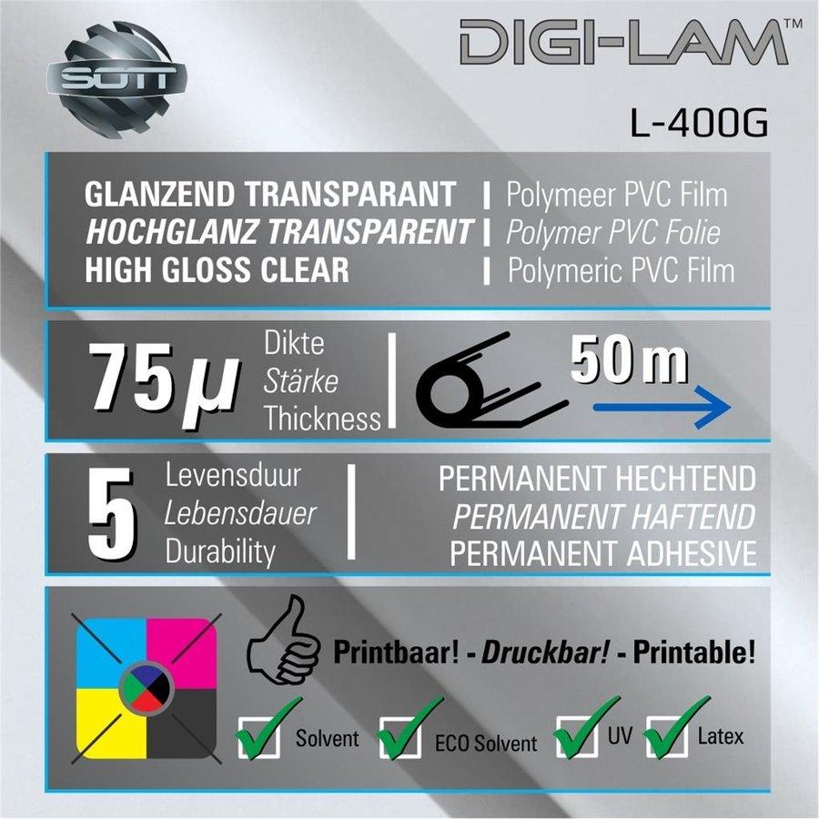 L-400 DIGI-LAM Polymer Laminat Glanz 137 cm-2