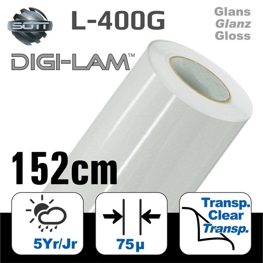 L-400 DIGI-LAM Polymer Laminat Glanz 152 cm-1