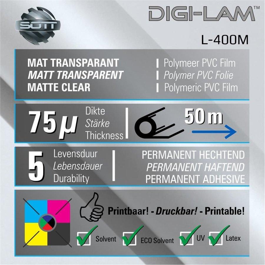 L-400 DIGI-LAM Polymer Laminat Matt 152 cm-2