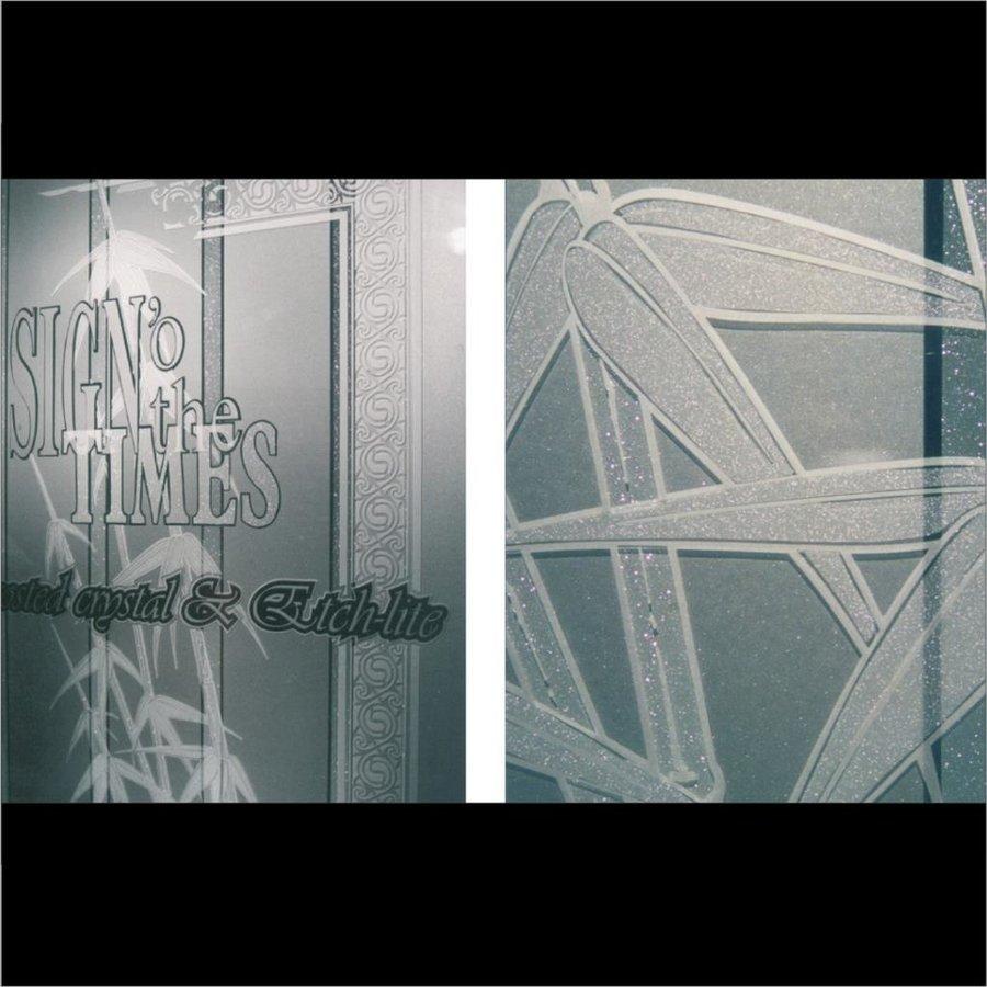 Glasdekor Folie X-Ct Etched Glass PVC -122cm-5