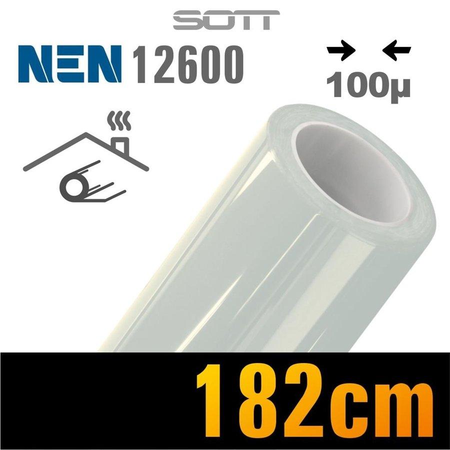 Schutzfolie Safety100 Glasklar EN12600 -182 cm-1