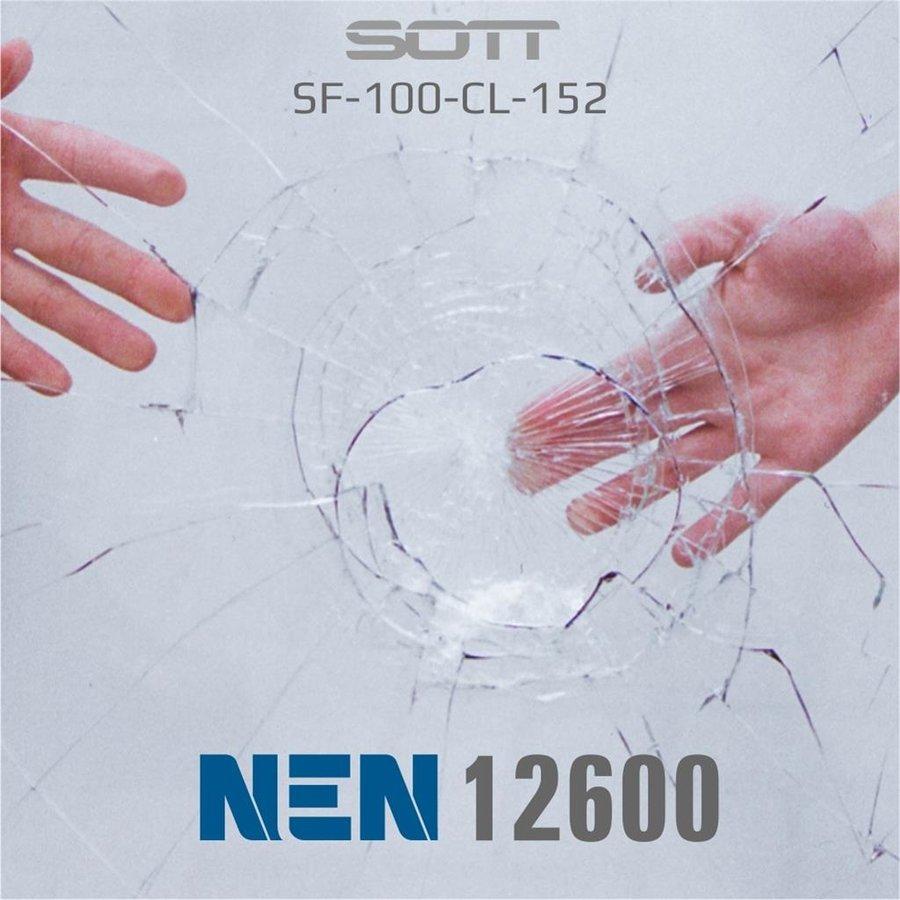 Schutzfolie Safety100 Glasklar EN12600 -182 cm-2