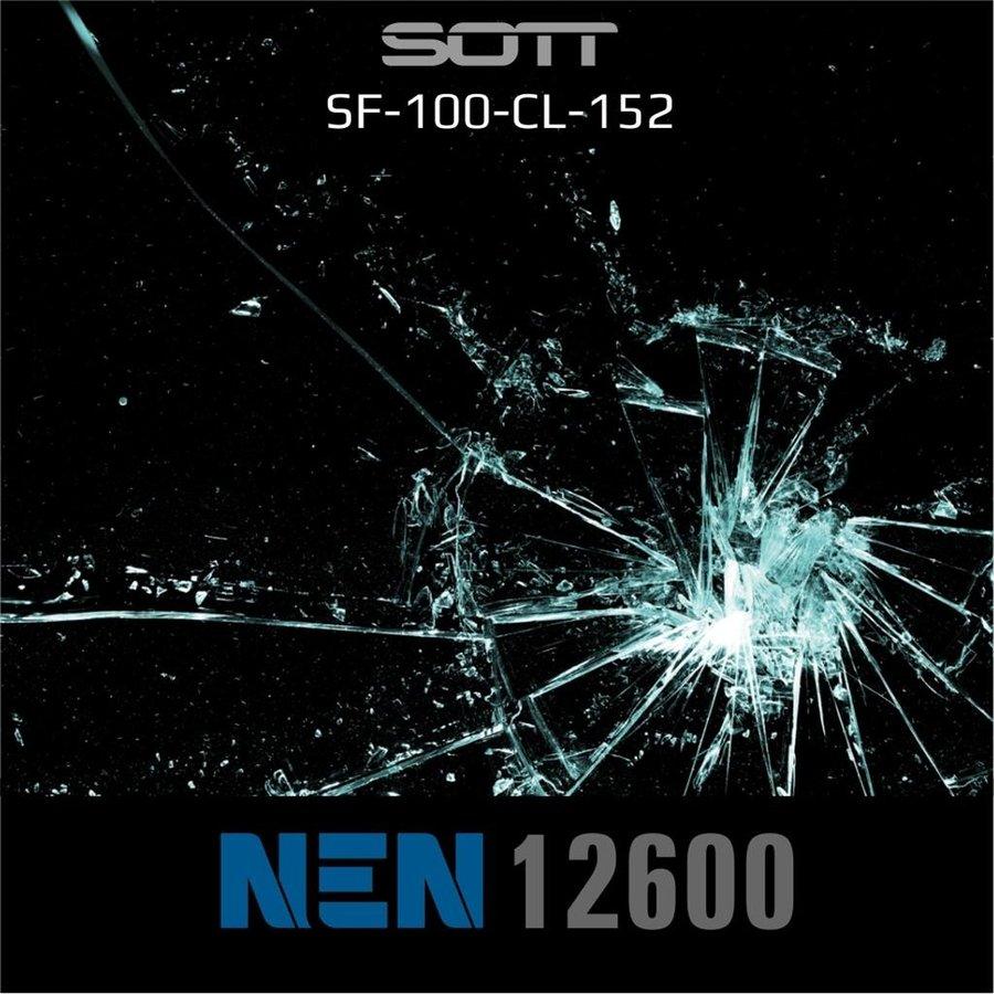 Schutzfolie Safety100 Glasklar EN12600 -182 cm-5