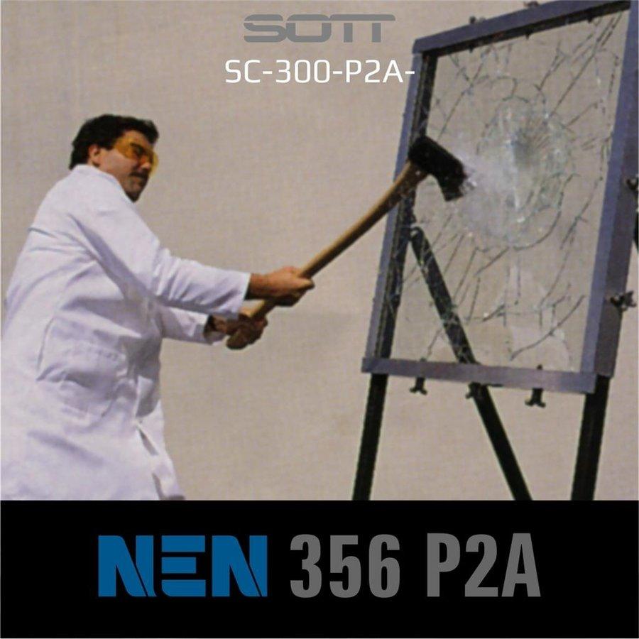 SC-300-P2A-182  Security300 P2A Glasklar EN 356 P2A -1-2