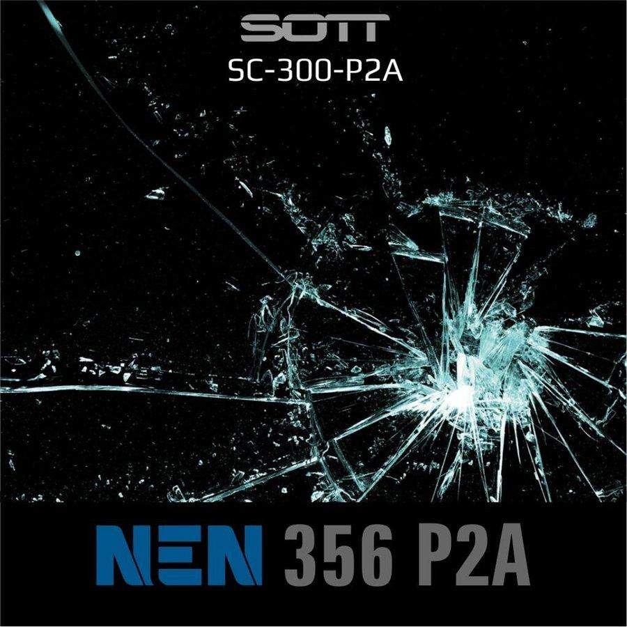 SC-300-P2A-182  Security300 P2A Glasklar EN 356 P2A -1-3